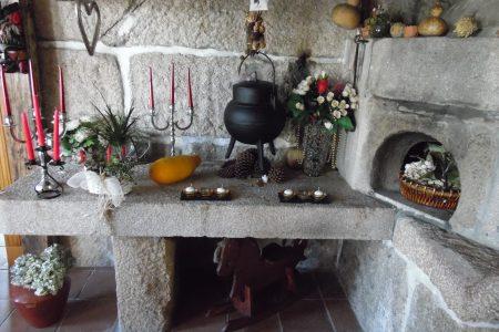 Casa Rural Casa Videira lareira